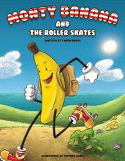 Cover of Monty Banana and the Roller Skates